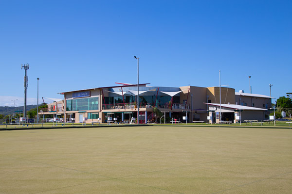 Sporting club at South West Rocks